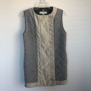 Stella McCartney Button Front Quilted Vest